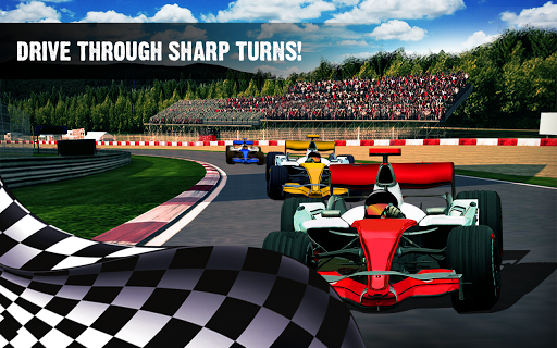 Code Triche Formula Racing Car Turbo Real Driving Jeux de cou APK MOD screenshots 3