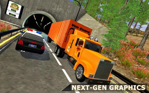 Cargo Truck Driving Simulator 2019  captures d'écran 1