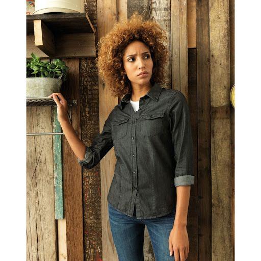 Custom Branded Denim Work Shirts