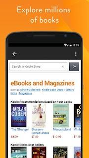 Amazon Kindle screenshot 04