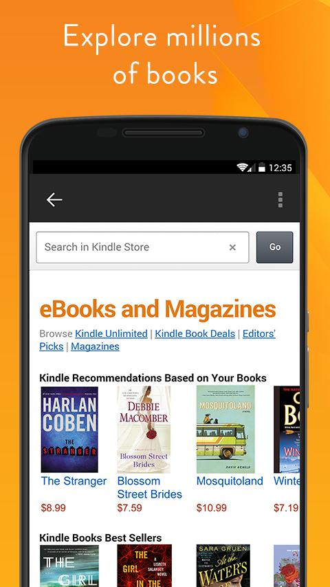 Amazon Kindle screenshot #5