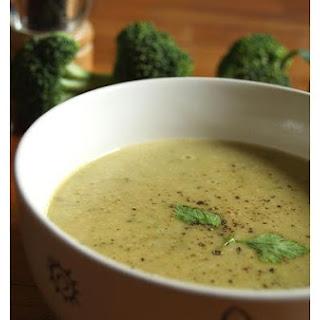 Cream Of Broccoli Soup.