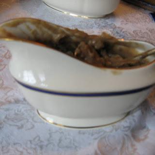Creamy Mushroom Gravy