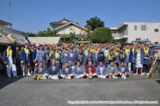 Photo: 【平成26年(2014) 本宮】 快晴となった本宮。今年は渡御前に集合写真。
