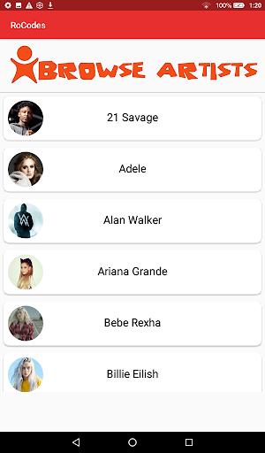 Rocodes Roblox Music Game Codes App Store Data Revenue