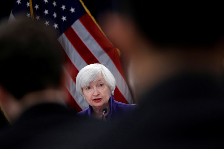 Janet Yellen. File photo: REUTERS/JONATHAN ERNST
