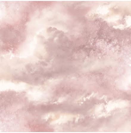 Fantasia Glittrande himmelsk galax tapet från Arthouse - Puderrosa 600062