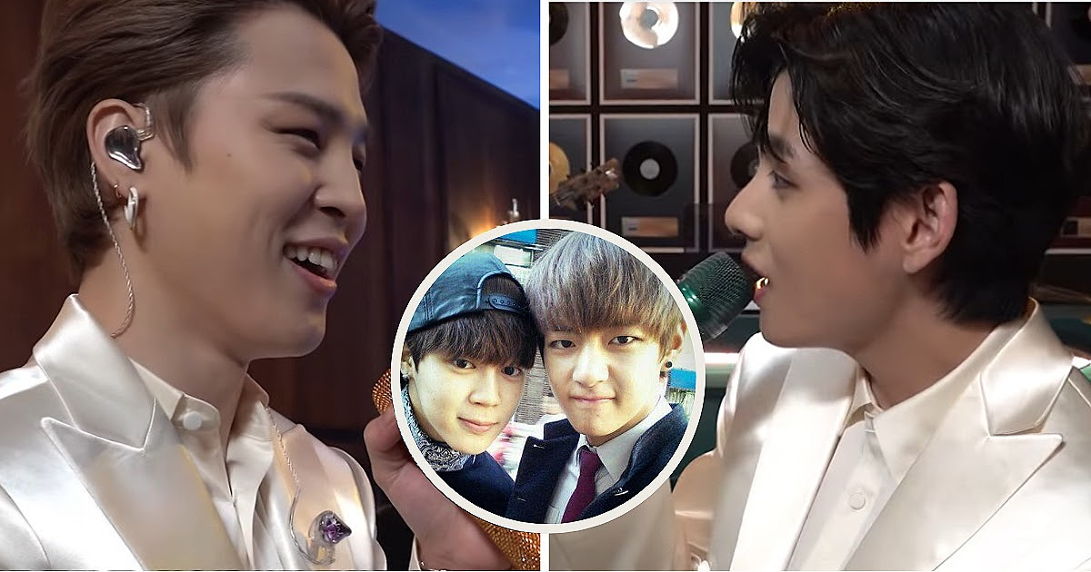 BTS's Jimin Took A Trip Down Memory Lane To His Trainee Days With V, And It Proves Just How Close They Are