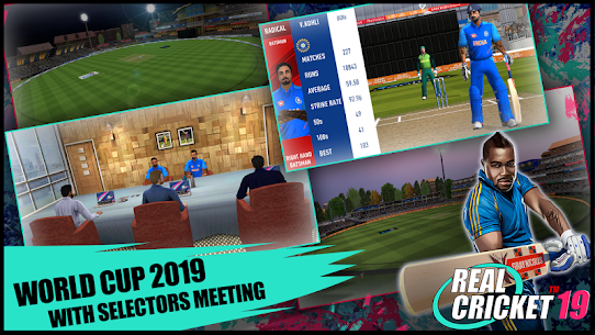 Real Cricket 19 Mod (UNLIMITED MONEY) 2