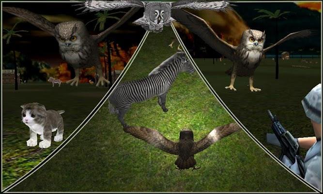 Eagle Owl Bird Attack Sim - screenshot