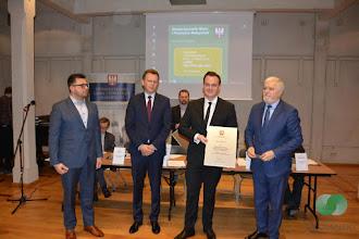 Photo: Zdobycie nagrody Lidera Małopolski  dla Integracyjnego Centrum Rozwoju Dziecka