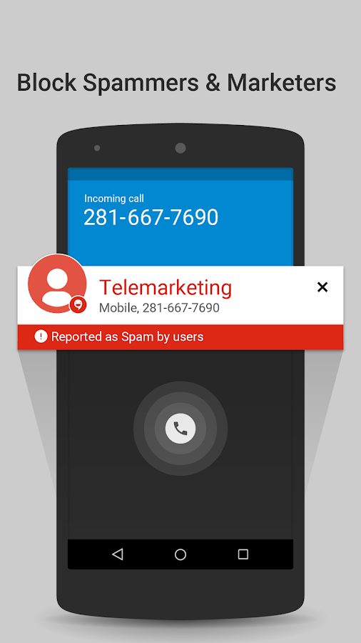 Caller ID & Block by CallApp- screenshot
