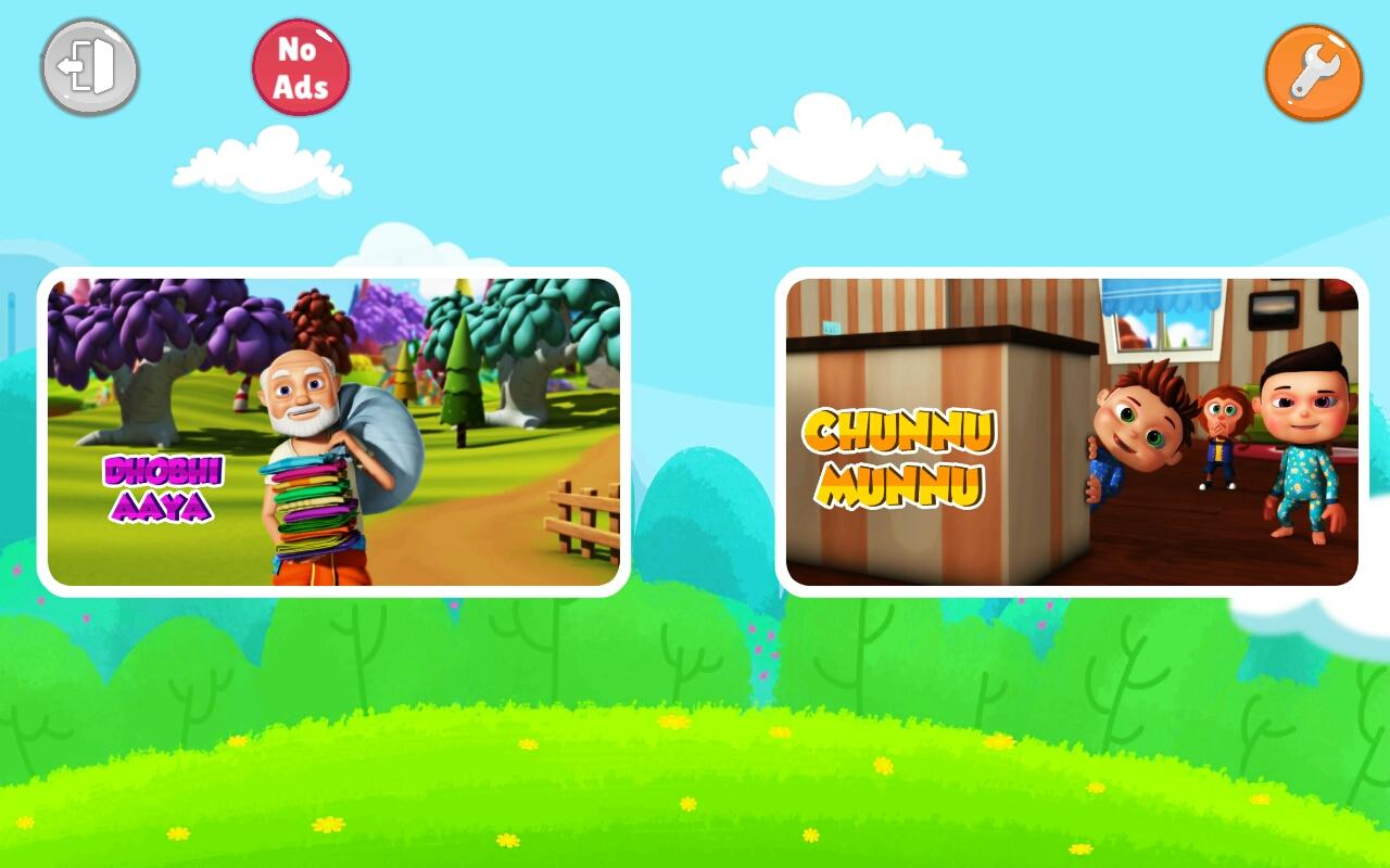 Hindi Top Nursery Rhymes - Offline Videos & Songs- screenshot