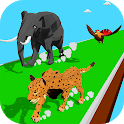 Animal Transform Race - Epic Race 3D icon