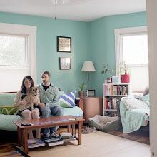 Photo: title: Lindsay Rowe + Joe Scala, Portland, Maine date: 2015 relationship: family friends, met through Toby + Lucky Hollander years known: Lindsay 20-25; Joe 0-5