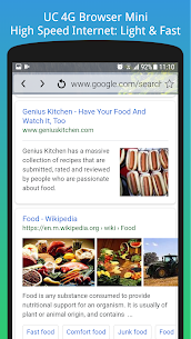 Uc 4G Browser Mini App Download For Android and iPhone 3