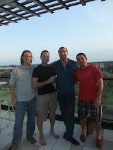 Photo: Tom Waston, Chris Anisczyck, Wassim Melhem, Brian Bauman (2011)