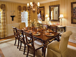 Photo: The dining room in our SAXON GRAND model home at Addison Estates in Clifton Park, NY