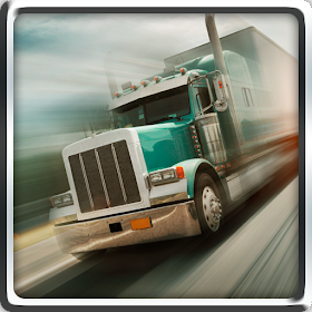 3D 18 wheels truck driver
