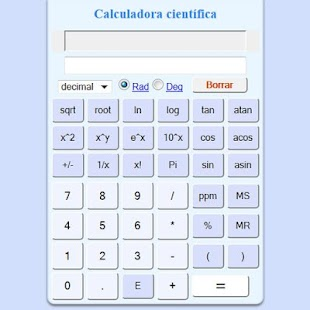 Free scientific calculator- screenshot thumbnail