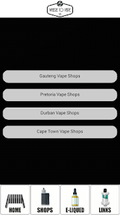 Where To Vape SA- screenshot thumbnail