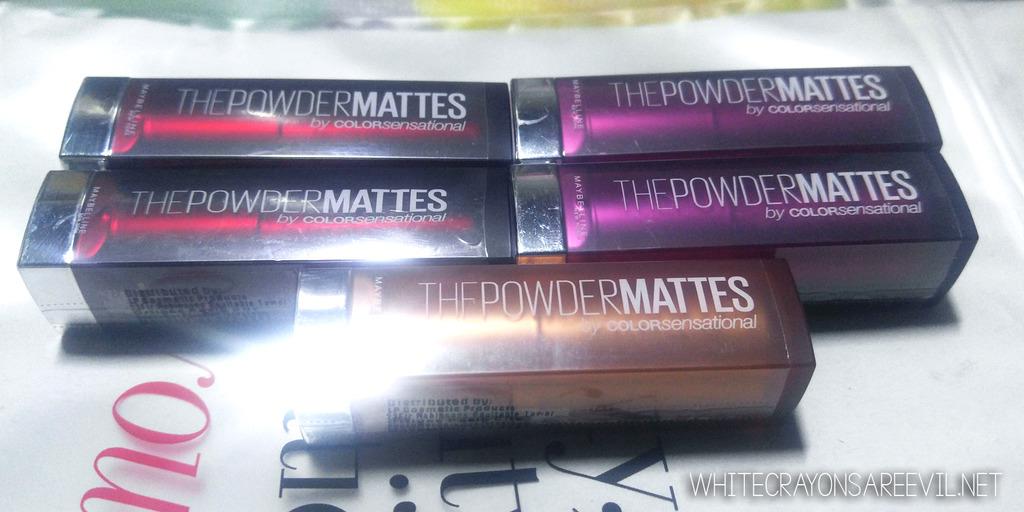 4eb3d0f9873 Look: Maybelline The Powder Mattes – WhiteCrayonsAreEvil