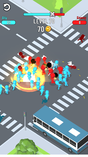 Cross Fight Android App Screenshot