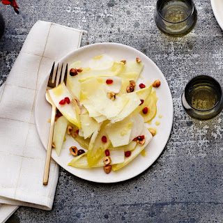 Winter White Salad With Endive and Pomegranate