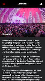 Slush Asia 2016 Screenshot