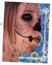 Photo: Wenchkin's Mail Art 366 - Day 172, card 172a