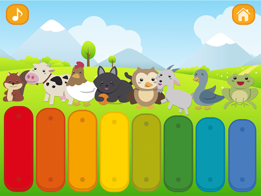 Baby Xylophone screenshot