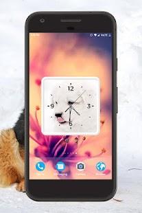 Dog Clock Live Wallpaper - náhled