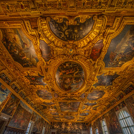 Doge's Palace by Yordan Mihov - Buildings & Architecture Other Interior ( palace, sigma, wide angle, wide, doge, sony alpha, italian, venice, 12mm, venezia, detail, italy, architecture )