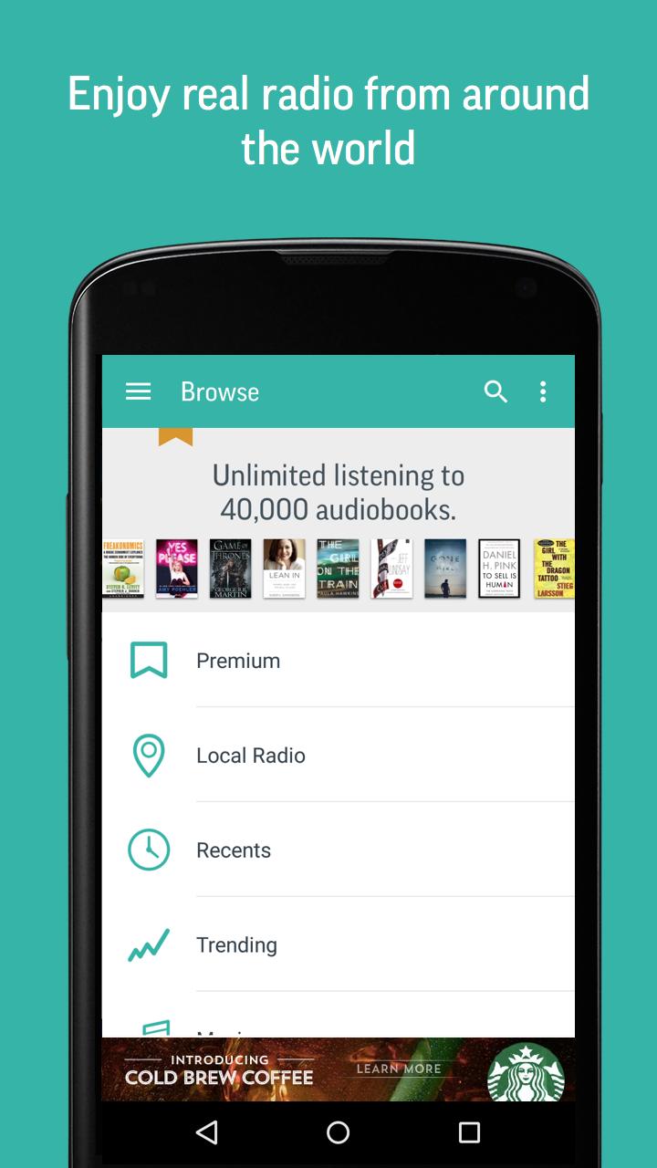 TuneIn Radio - Radio & Music screenshot #4