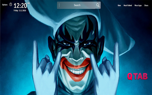 Joker Wallpapers Theme Joker New Tab