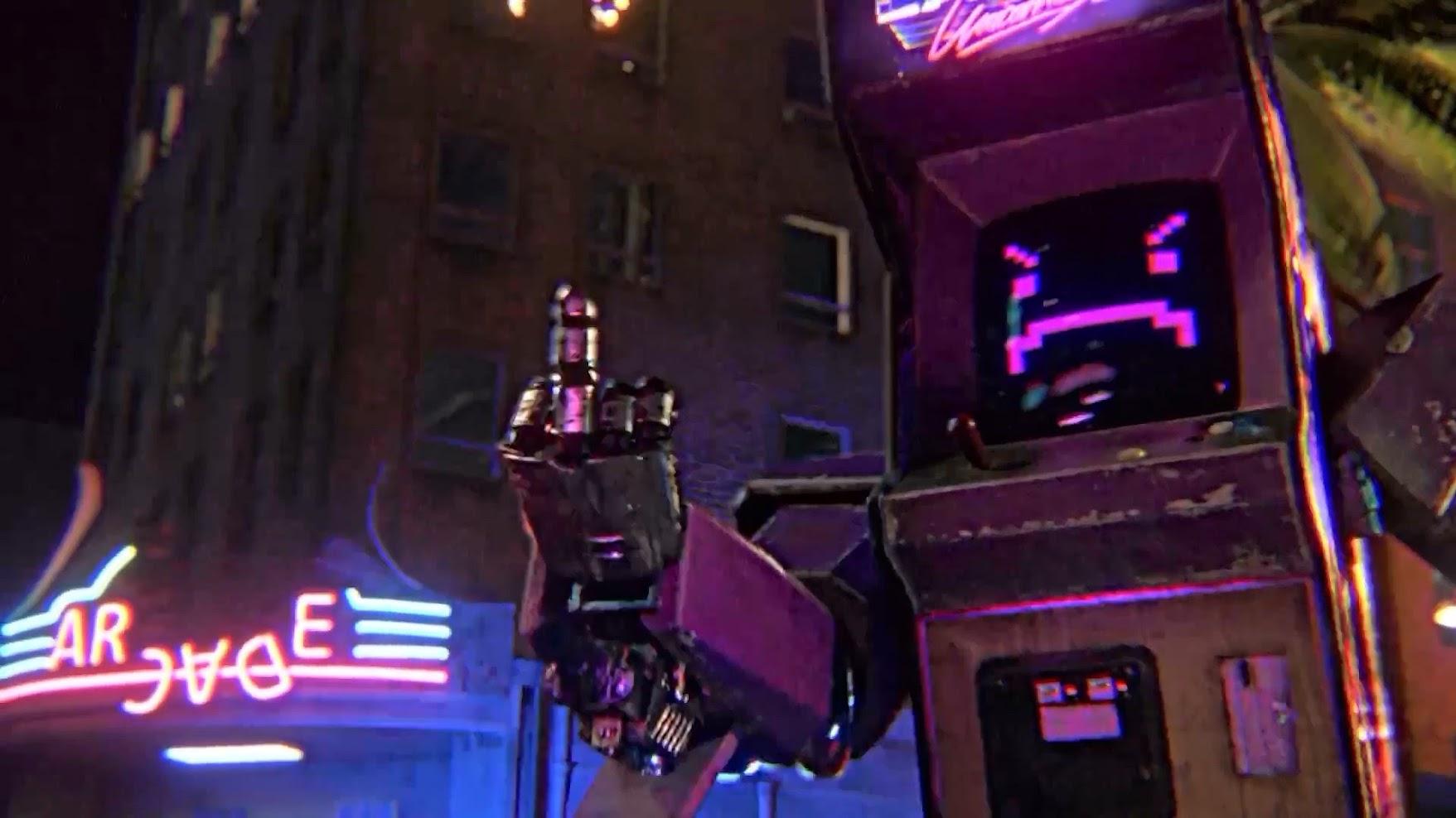 La máquina arcade de Kung Fury