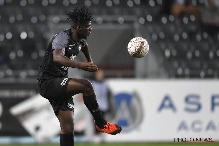 """Rocky Bushiri après la défaite d'Eupen :""""J'espère que cela ne va pas toucher le mental des joueurs pour le match contre Courtrai"""""""
