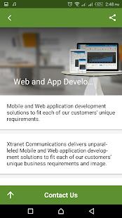 Xtranet - náhled