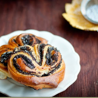 Poppy Seed and Apple filled Pastries