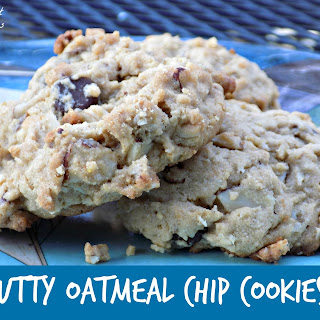 Nutty Oatmeal Chip Cookies