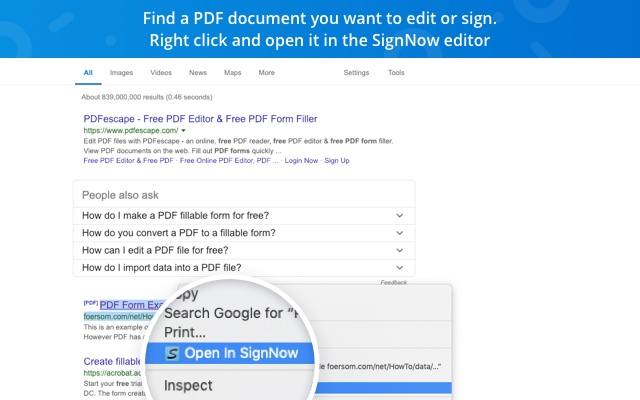 SignNow - Sign and Fill PDF & Word Documents