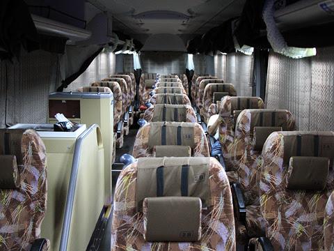 京浜急行バス「エディ号」吉野川系統 3207 車内