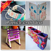 Easy Popsicle Craft Ideas icon
