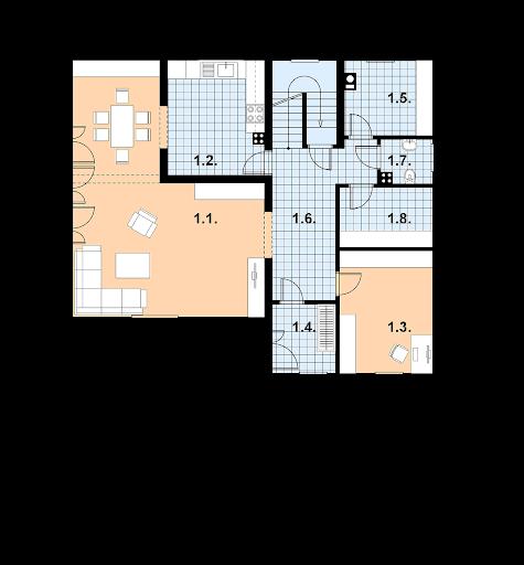A-114 - Rzut parteru