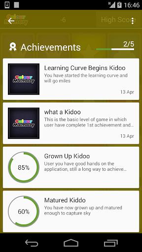 Colour Memory kidoo 1.0 screenshots 3