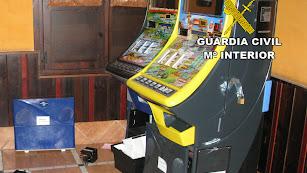 Imagen de archivo de varias máquinas recreativas.