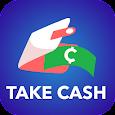 Take cash