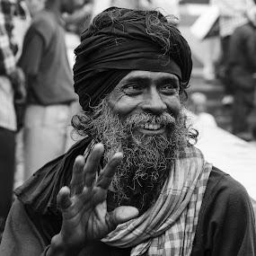 by Biswajit Chatterjee - People Portraits of Men