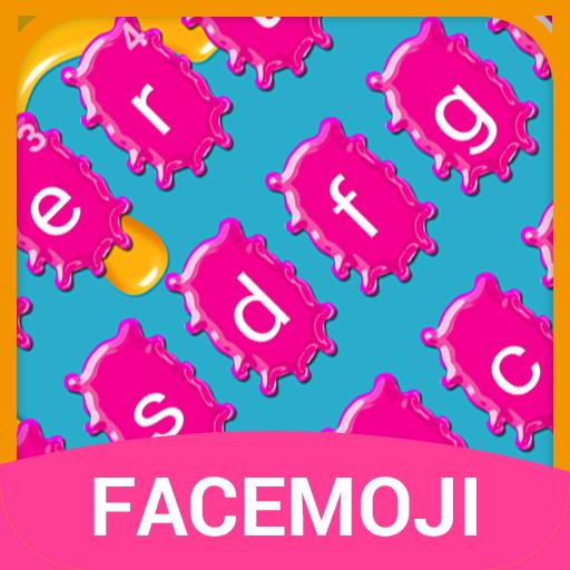 Jet Graffiti Emoji Keyboard Theme