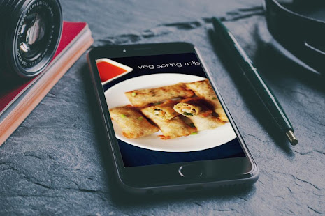 Veg spring rolls recipe apps on google play screenshot image forumfinder Gallery